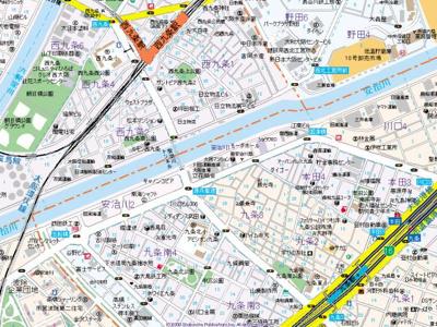 【地図】シャルマンJS