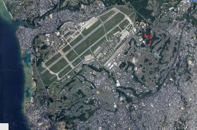 【外観】沖縄市森根軍用地(嘉手納飛行場)