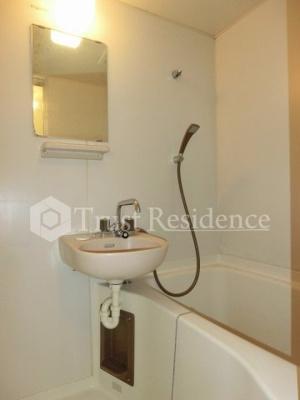 【浴室】セントラルハイツ千歳