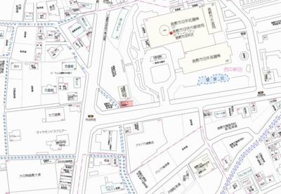 【地図】渡辺東ビル