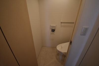 【トイレ】ワンランク上の広々とした1K パークアクシス麻布仙台坂