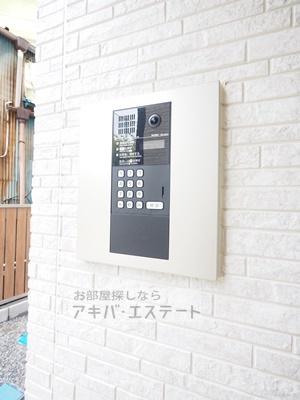 【セキュリティ】シャルム西新井