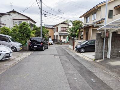 【前面道路含む現地写真】京都市伏見区深草鞍ケ谷