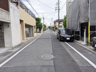 【前面道路含む現地写真】京都市伏見区桃山長岡越中東町
