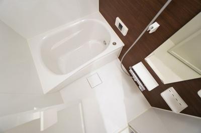 【浴室】わらびリーフハイツ