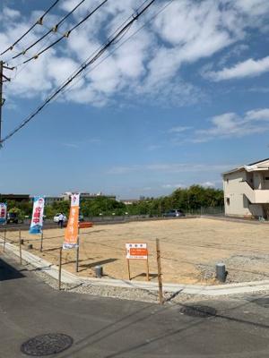 【前面道路含む現地写真】堺市西区上野芝町8丁目 1号地