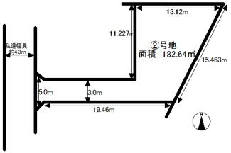 【土地図】堺市西区上野芝町8丁目 2号地