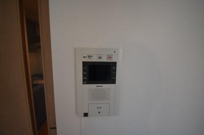 TVモニター付インターホンです