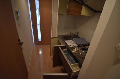 【キッチン】大切なペットと暮らせるワンランク上の1K プラウドフラット白金高輪