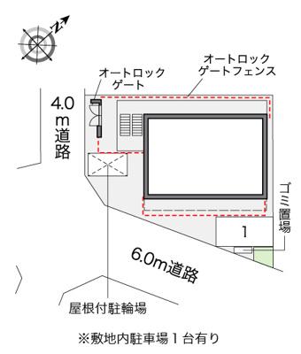 【地図】レオパレス夕凪