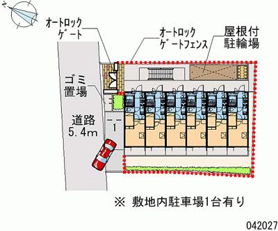 【地図】レオパレスポートサイド弁天