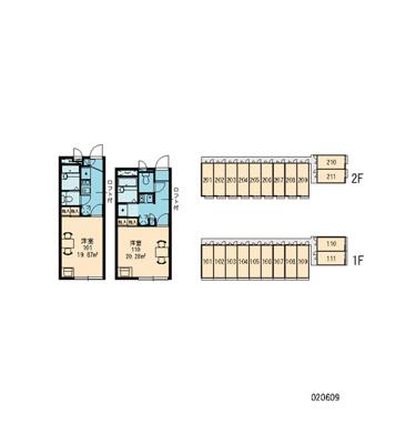 【区画図】レオパレスGINGA
