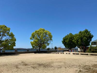 久米田池沿い公園