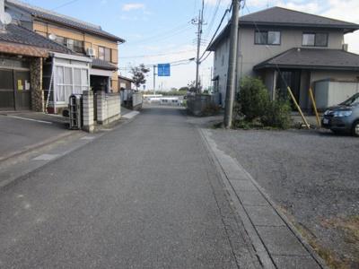 【前面道路含む現地写真】深谷市上増田 200万 土地