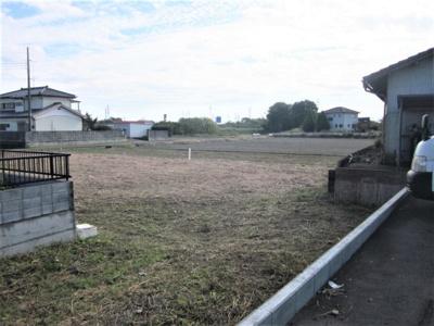 【外観】深谷市上増田 200万 土地