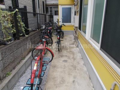 フェリスパロットの駐輪スペース