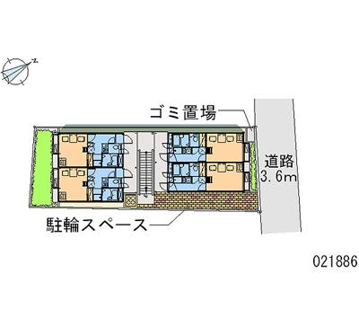 【地図】レオパレスいずみ
