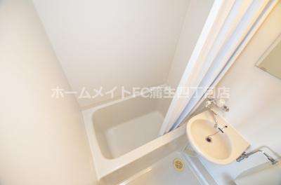 【浴室】龍王関目マンション