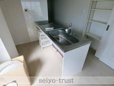【キッチン】コーポ大宮