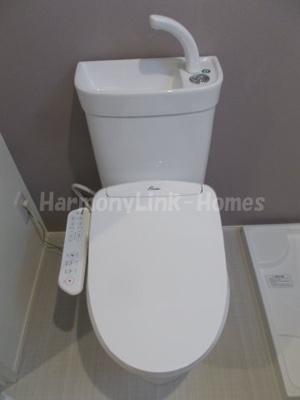 ハーモニーテラス関町北Ⅱのコンパクトで使いやすいトイレです