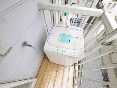 洗濯機置き場はこちらになります