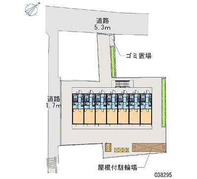 【地図】レオパレスWING西淀