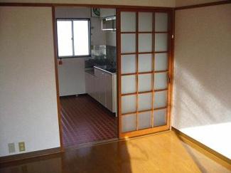 【居間・リビング】コーポ藤川