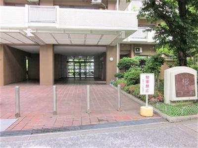 【エントランス】淀川リバーサイドタウン桜第3コーポ
