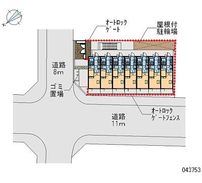 【地図】レオパレスアーク姫島