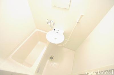 【浴室】レオパレスローズ