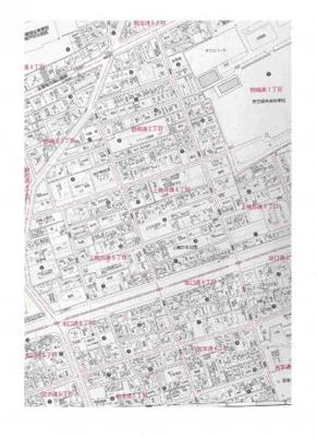 【地図】坂口通4丁目中古住宅