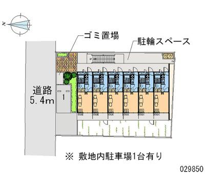 【地図】レオパレスプレステージ三津屋