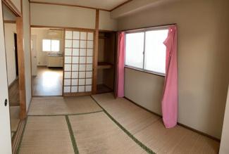 北側のお部屋です。