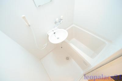 【浴室】レオパレスプレステージ三津屋Ⅱ