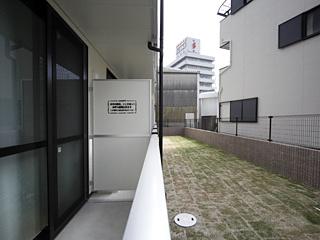 【バルコニー】レオパレスプレステージ三津屋Ⅱ