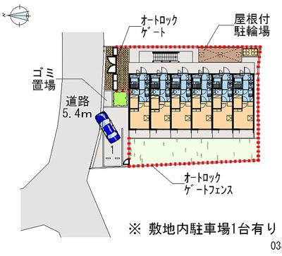 【地図】レオパレスプレステージ三津屋Ⅱ