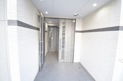 【エントランス】Luna Crescente Tenjin Residence