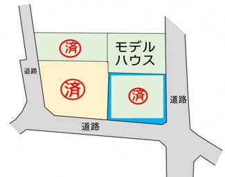 【土地図】【完売しました】スマイルタウン上郷