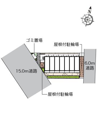 【地図】クレイノオーシャンパル
