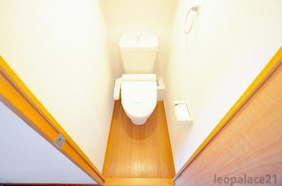 【トイレ】レオパレスムーンライトスクエア