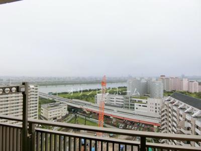 【展望】東京リバースフォート 18F 最上 階 81.46㎡ 空 室