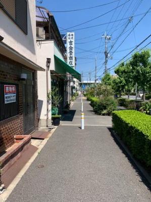 【前面道路含む現地写真】東大阪市荒川1丁目 中古戸建