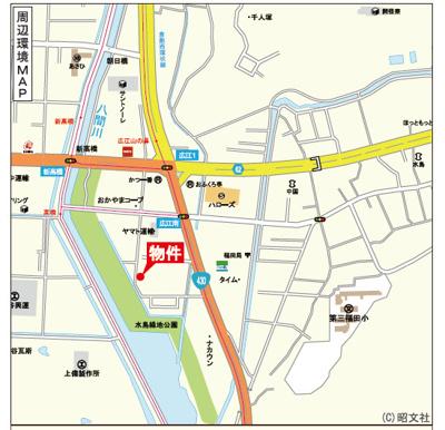 【地図】リーブルガーデン倉敷・広江1丁目 7号棟