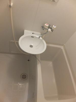 【浴室】レオパレスポムール