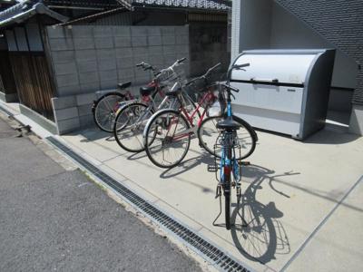 駐輪スペースです