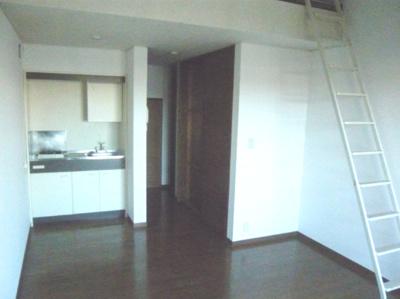 このお部屋はロフトはついていません。他の部屋の写真です。