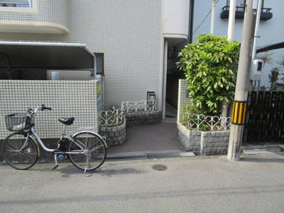 【エントランス】レジデンス西田辺