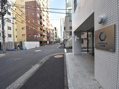 【周辺】カスタリア新富町Ⅱ