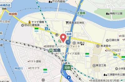 【地図】セピアハイツ