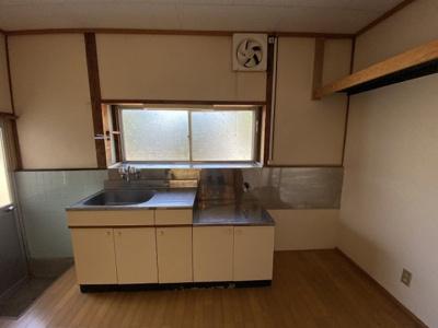 【キッチン】青栁貸家